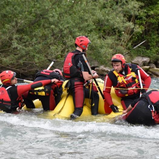 Corso conduzione raft da soccorso