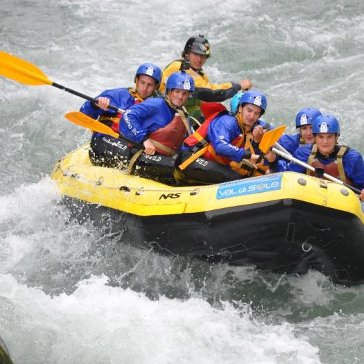 Corso guida raft commerciale
