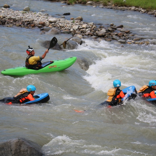 Corso safety kayak commerciale