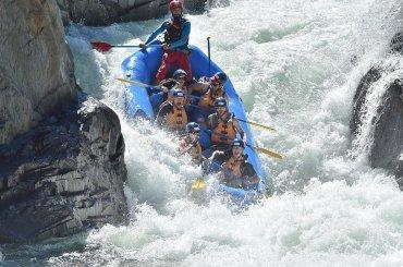Guida rafting professionale