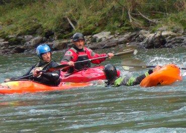 Corso tecnico soccorritore fluviale per canoisti