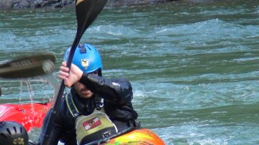 Corso di safety kayak commerciale