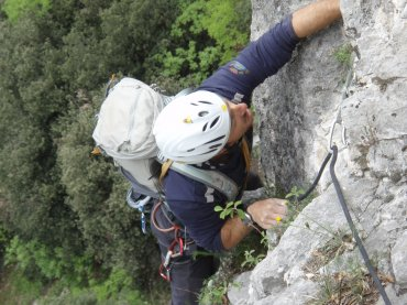 Corso arrampicata e movimentazione su roccia