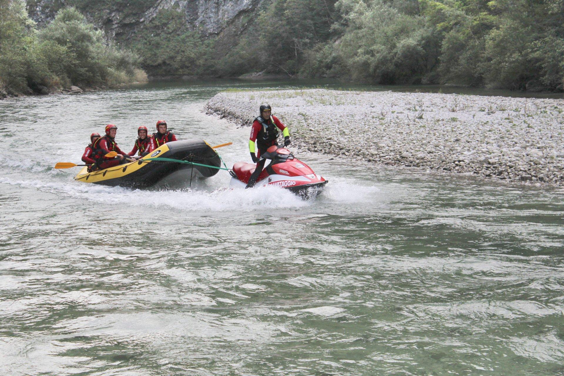 Corso ATP e Aquabike fluviale da soccorso