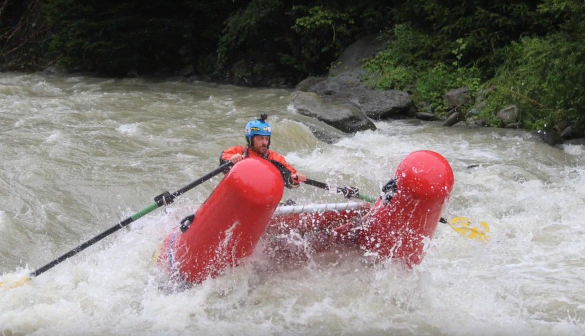 Corso conduzione fluviale a remi