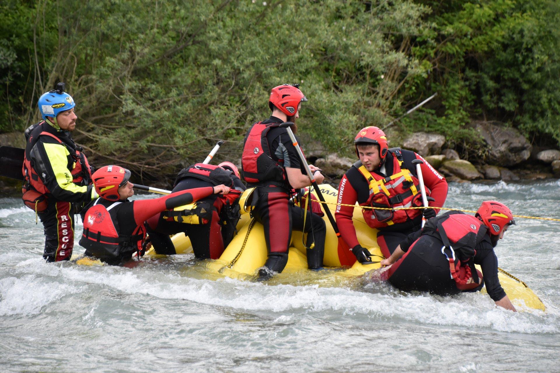 Corso Conduzione Raft per il soccorso