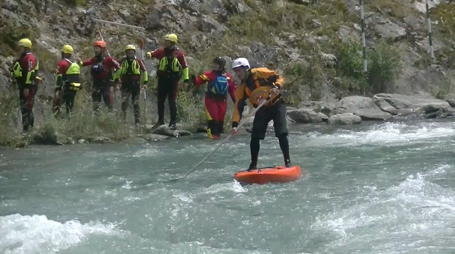 Corso Autosoccorso e soccorso SUP fluviale