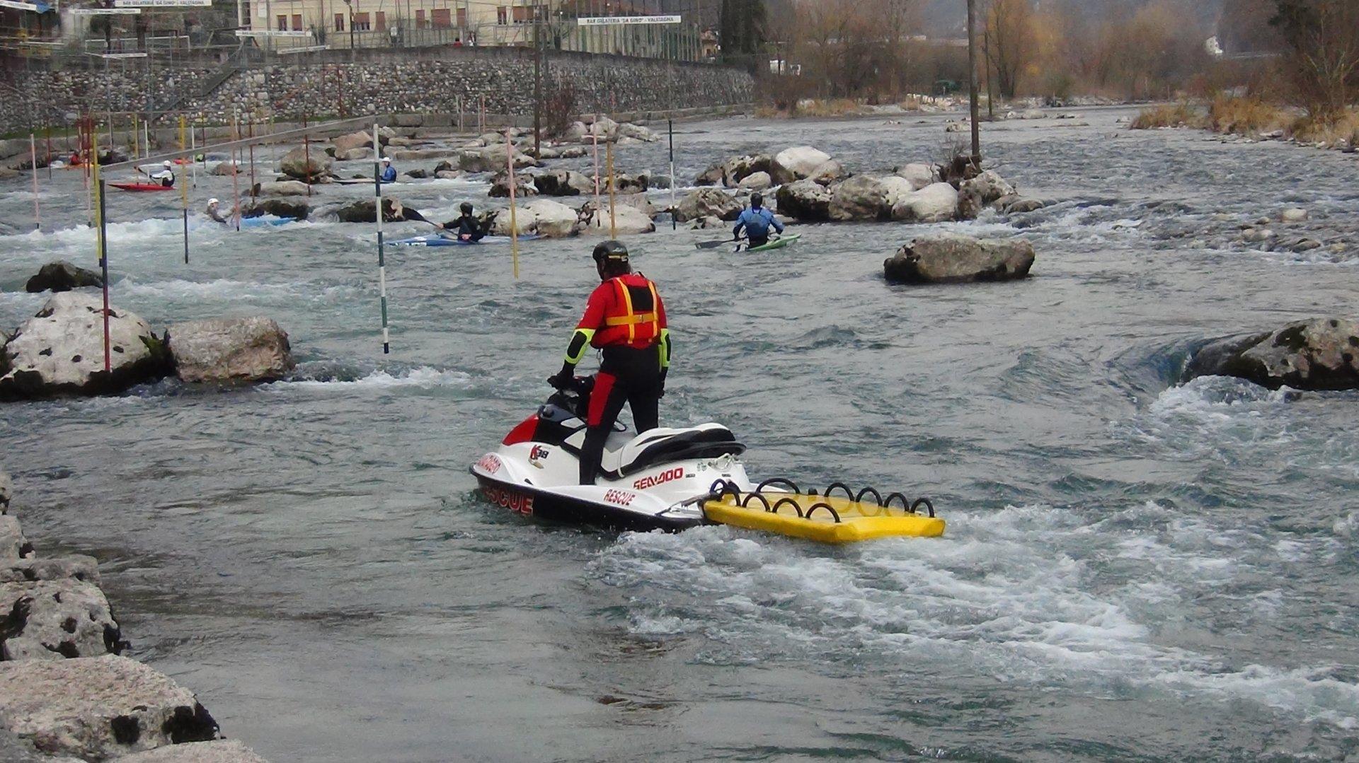 Aquabike in fiume, ecco i trucchi