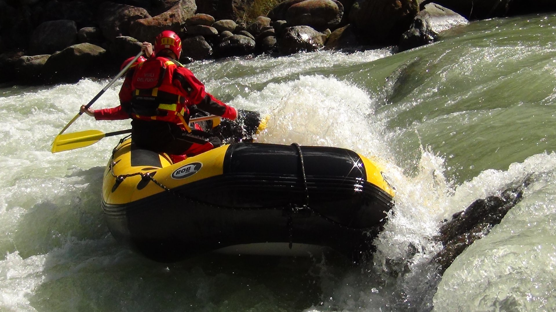 Training course perfezionamento raft