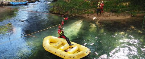 Corsi di soccorso fluviale