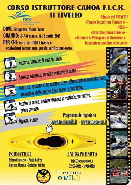 Federazione Italiana Canoa e Kayak: corso istruttori II livello