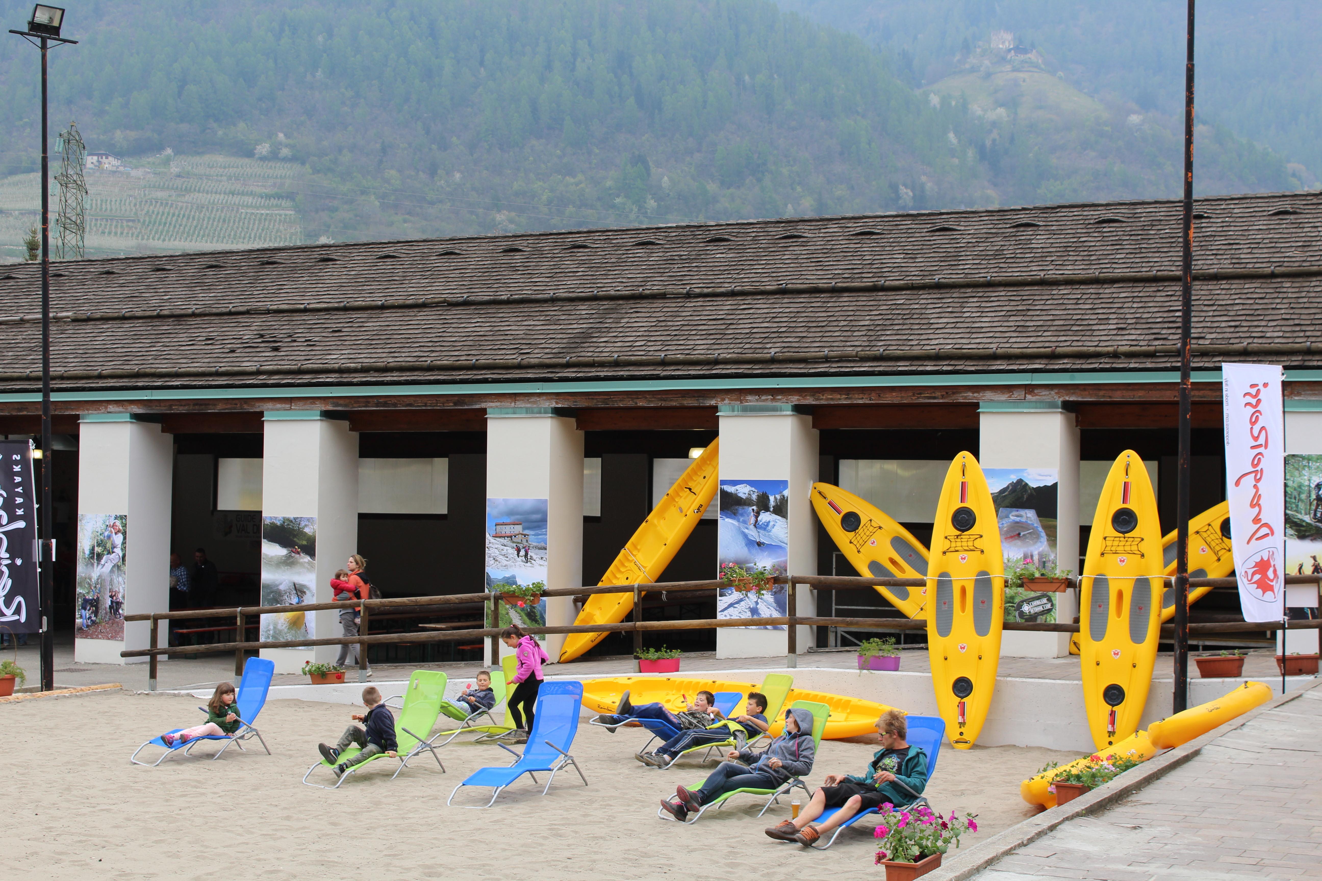 Trentino wild village