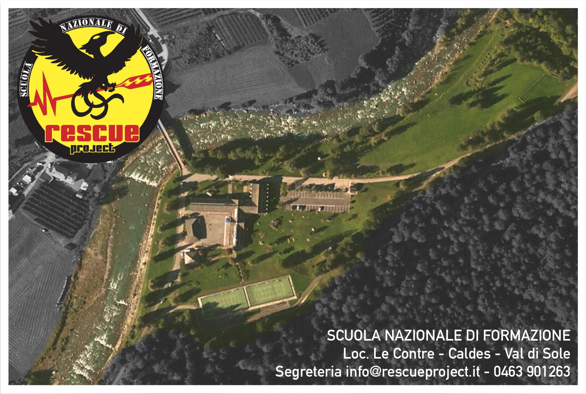 APERTURA CENTRO DI FORMAZIONE NAZIONALE RESCUE PROJECT IN VAL DI SOLE