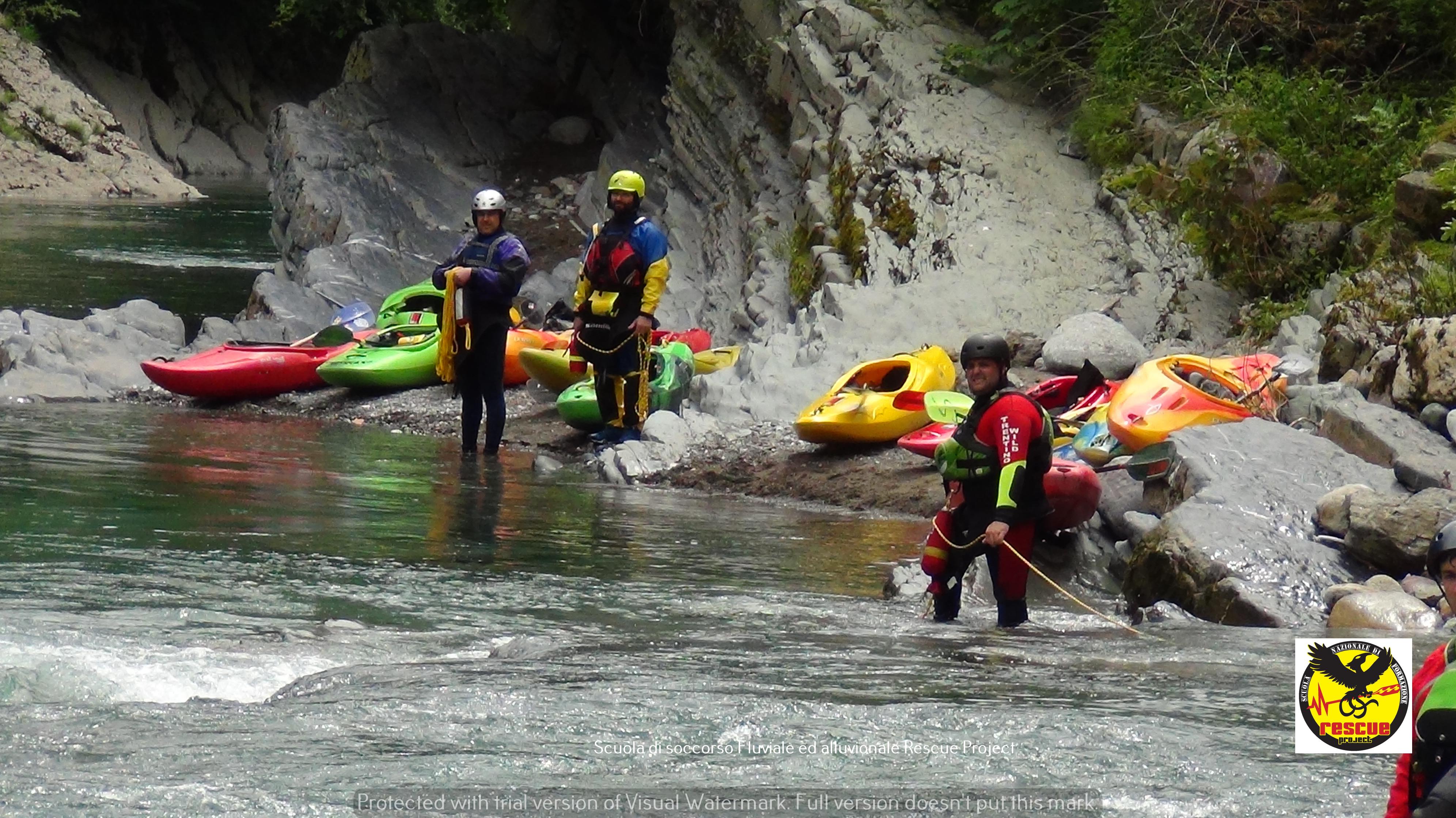 Rafting in Trentino e in Val di Sole109