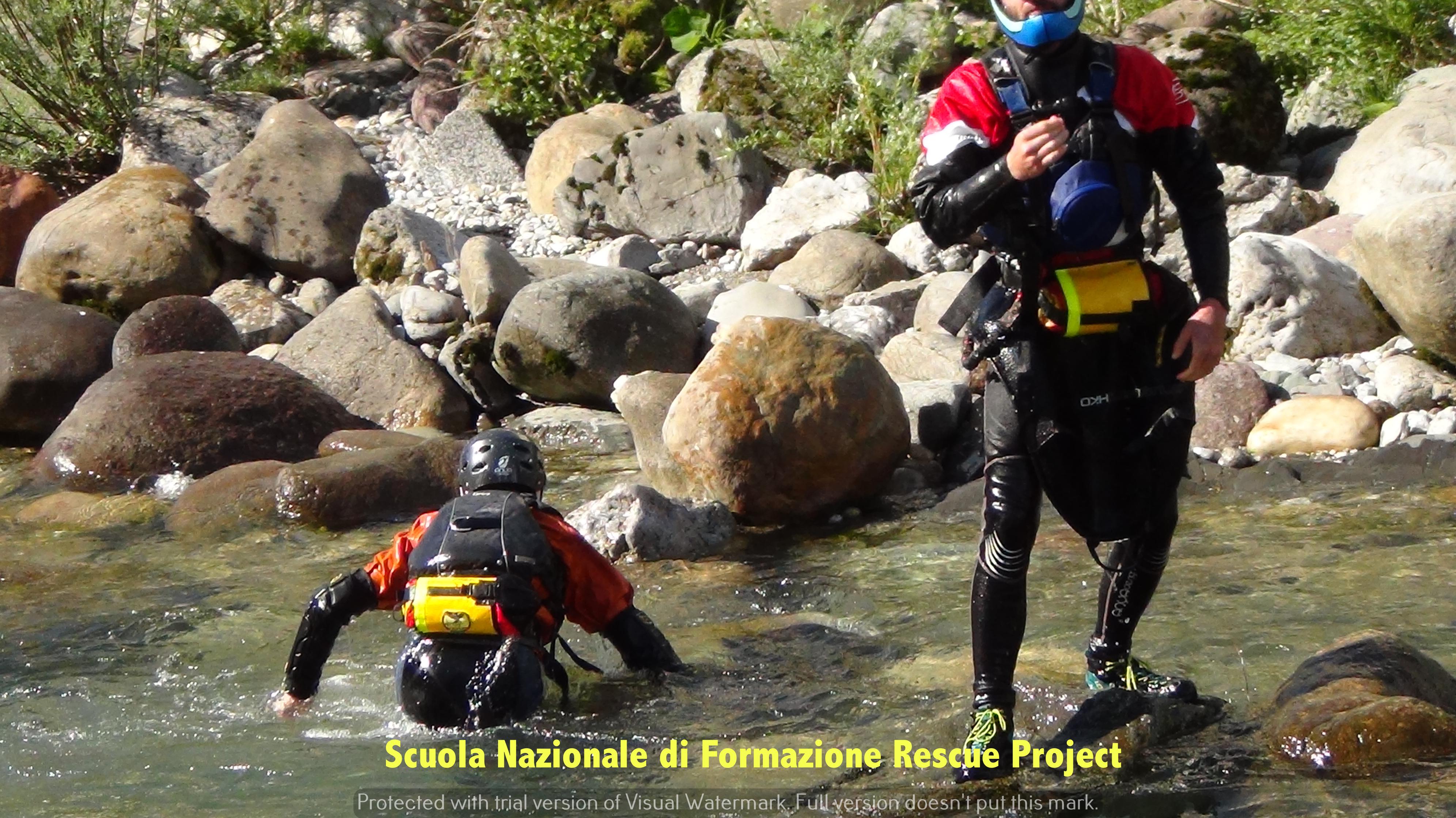 Scuola Nazionale di Formazione  Rescue Project13