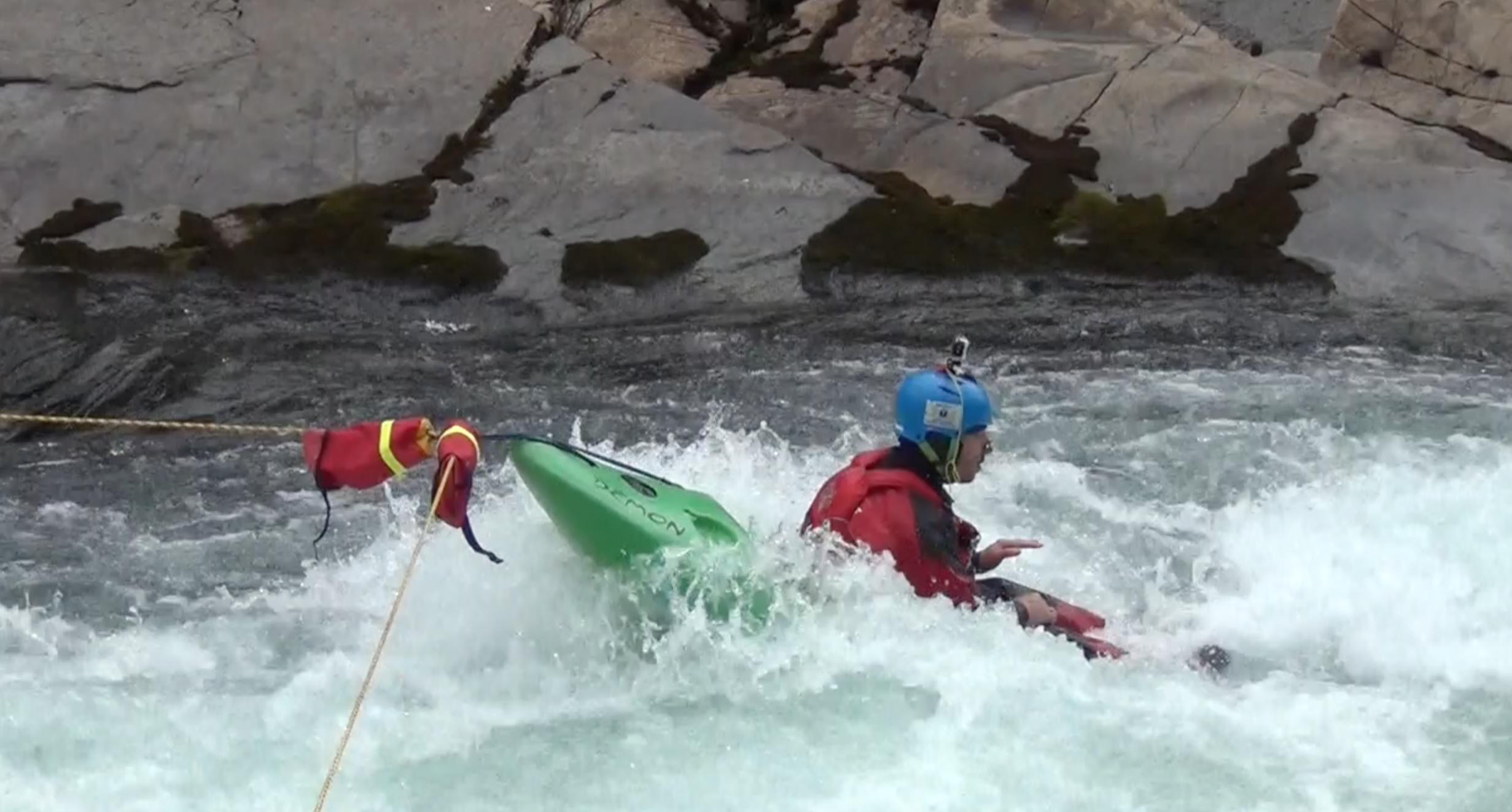 Tecniche di scouting in kayak e rafting