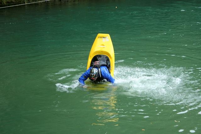 come migliorare  in canoa.