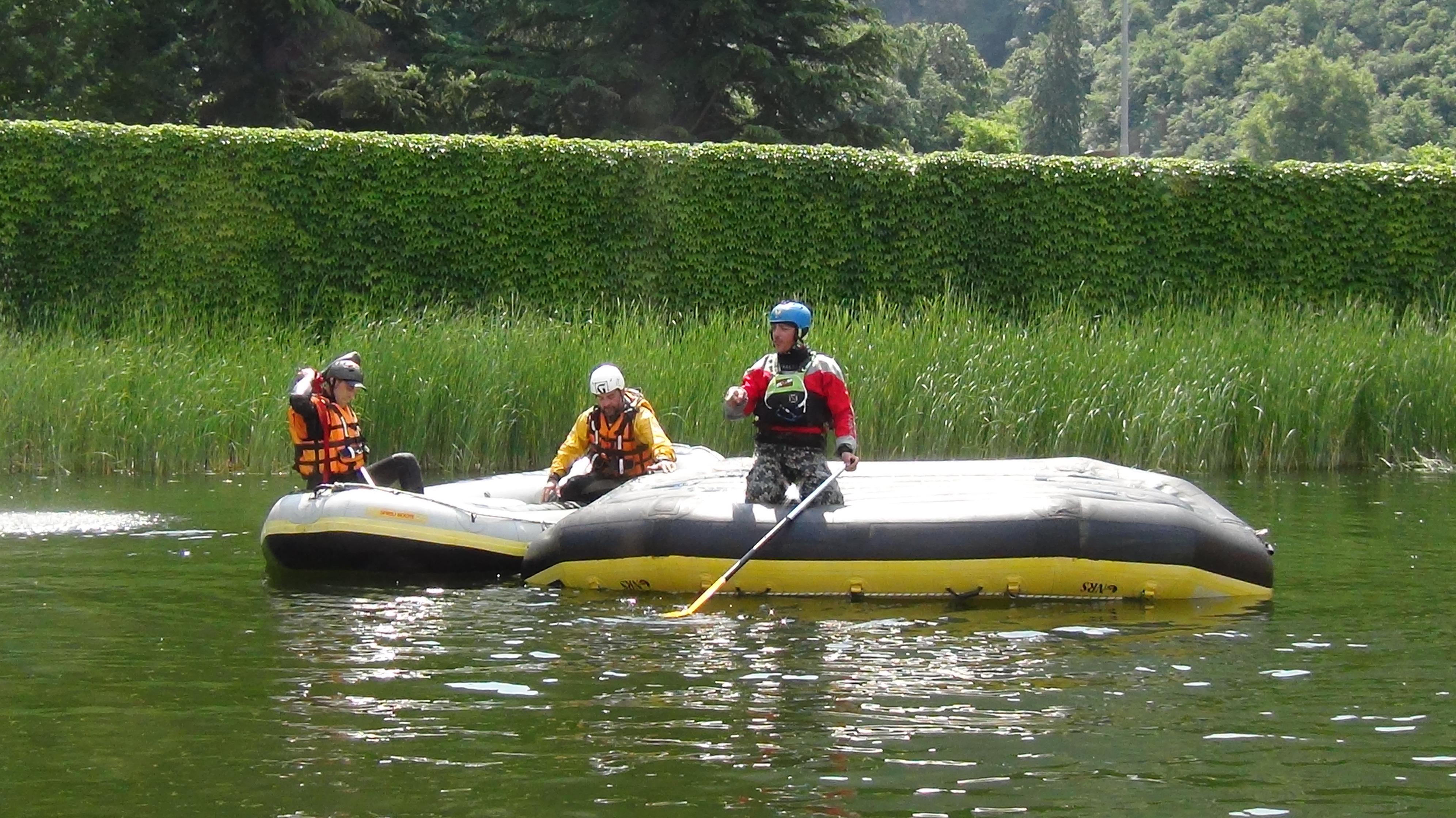 Come risalire su un raft