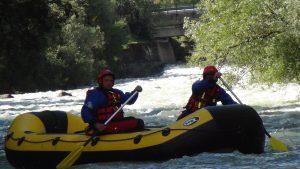 rafting per soccorso