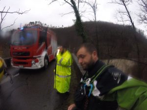 incidente in canoa allertato il team Rescue Project