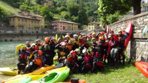 Kayak camp rescue school con Rescue project e Free Flow