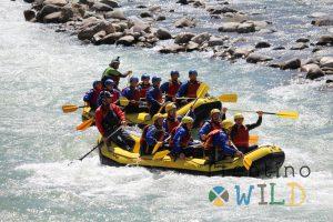 distanze in fiume l'importanza di lavorare assieme